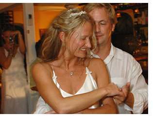 Dancing is a must at an island Wedding Reception