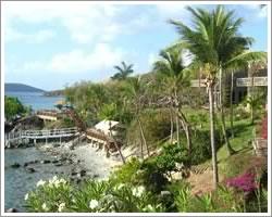 Tropical splendor from your private balcony on St John USVI