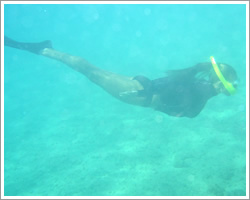 Snorkeling the pristine waters of St John VI