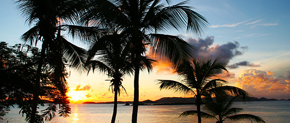 St. John USVI Sunset