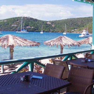 Pussers Rum Restaurant, Marina Cay