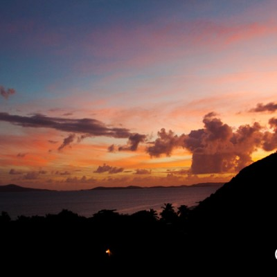 Sunset from Perfect Pineapple, White Bay BVI