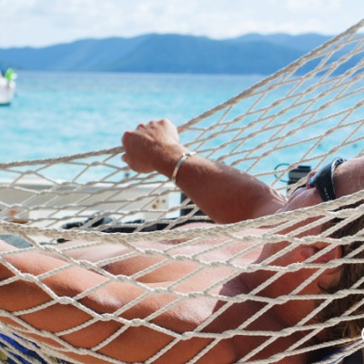 Hammock therapy, White Bay BVI