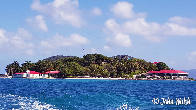 Traveling to Marina Cay, BVI