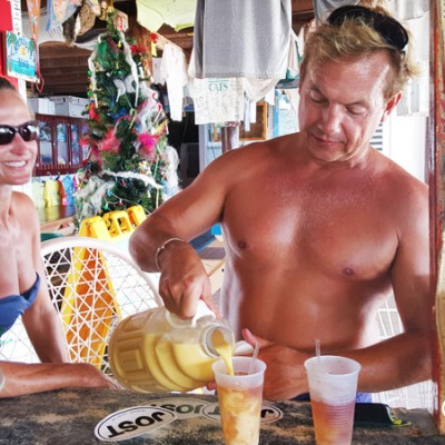 Pour your own Painkillers at Gertrude's! White Bay, Jost van Dyke